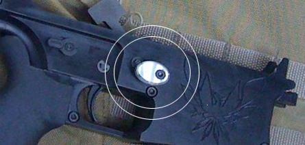 TAC-12 Oversized Mag Button (Elliptical)