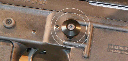 TAC-12 Oversized Mag Button (Round)